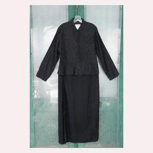 Flax Engelhart Peplum Suit Dress